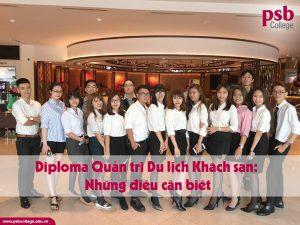 Diploma Quản trị Du lịch Khách sạn: Những điều cần biết
