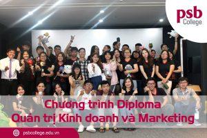 Chương trình Diploma Quản trị kinh doanh và Marketing