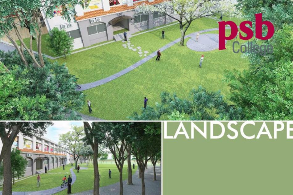 Khuôn viên của học viện PSB College