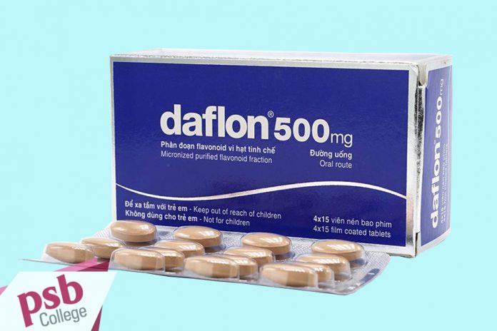 Hình ảnh thuốc Daflon 500mg