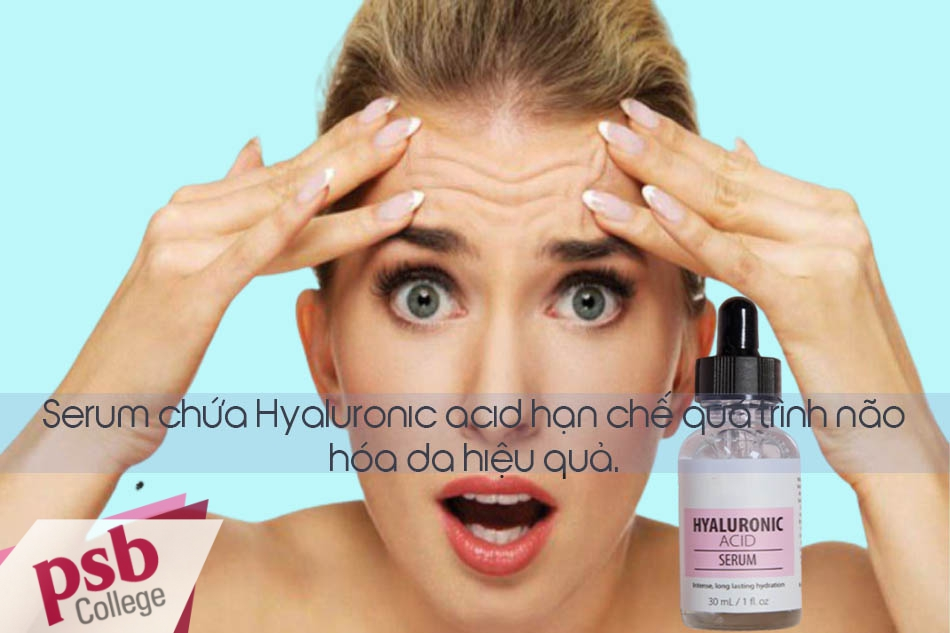 Hyaluronic Acid khiến vấn đề lão hóa không còn là những bận tâm