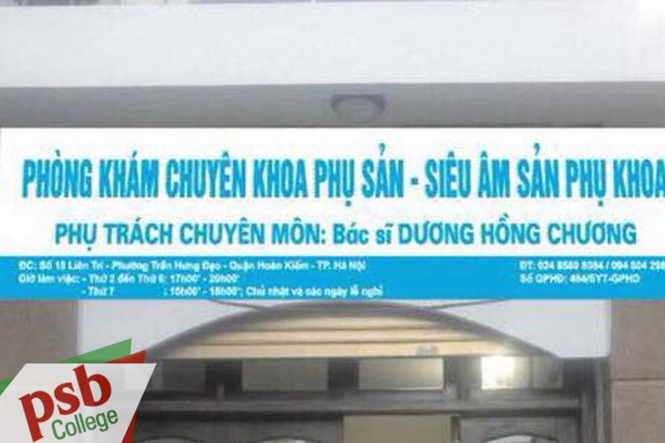 Phòng khám bác sĩ Dương Hồng Chương