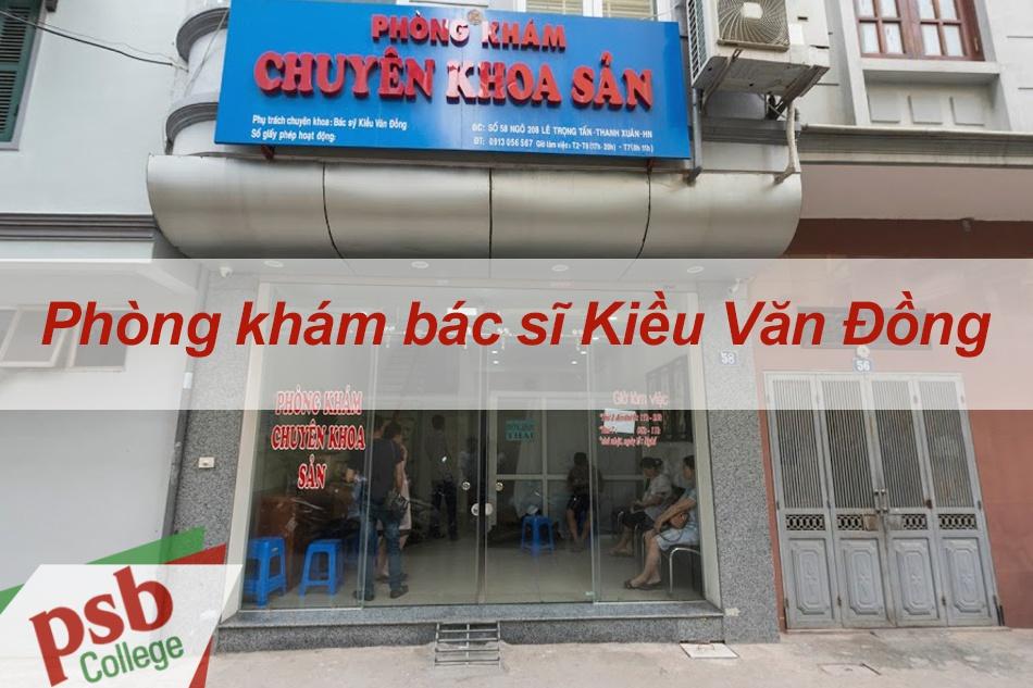 Phòng khám bác sĩ Kiều Văn Đồng