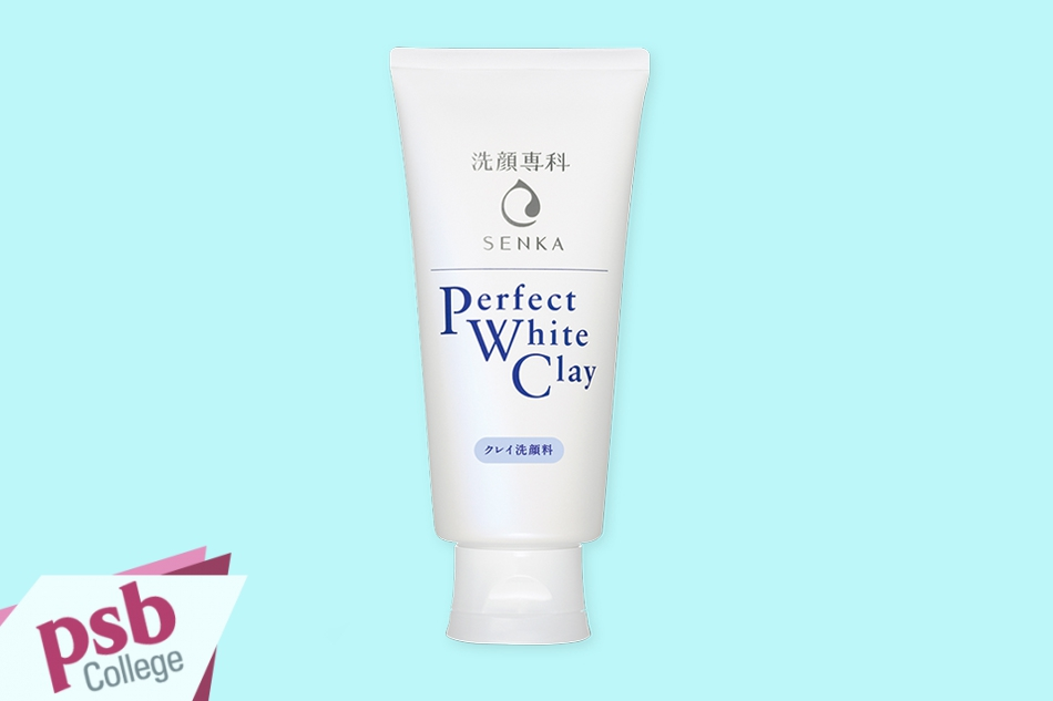 Hình ảnh tuýp sữa rửa mặt Senka Perfect White Clay