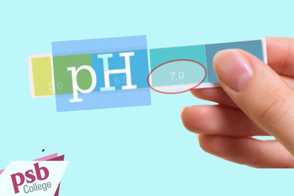 pH trong mỹ phẩm tốt cho da nhất là pH=7