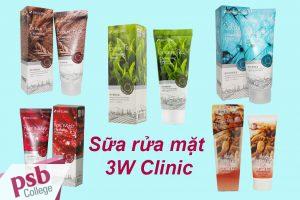 Sữa rửa mặt 3W Clinic