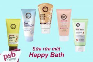 Sữa rửa mặt Happy Bath