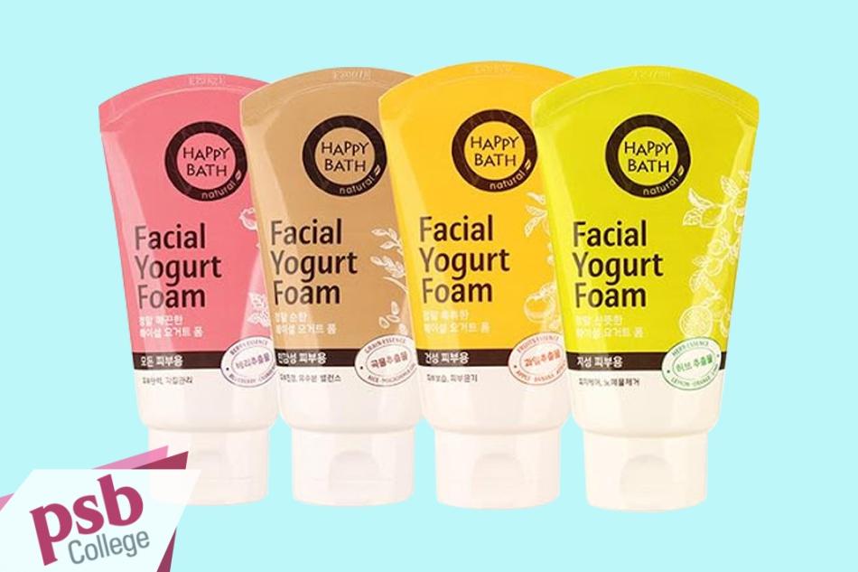 Bộ sản phẩm Sữa rửa mặt Happy Bath Facial Yogurt Foam