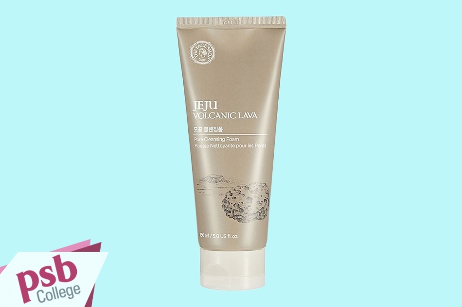 Sữa rửa mặt The Face Shop Jeju Volcanic Lava Pore Scrub 150ml
