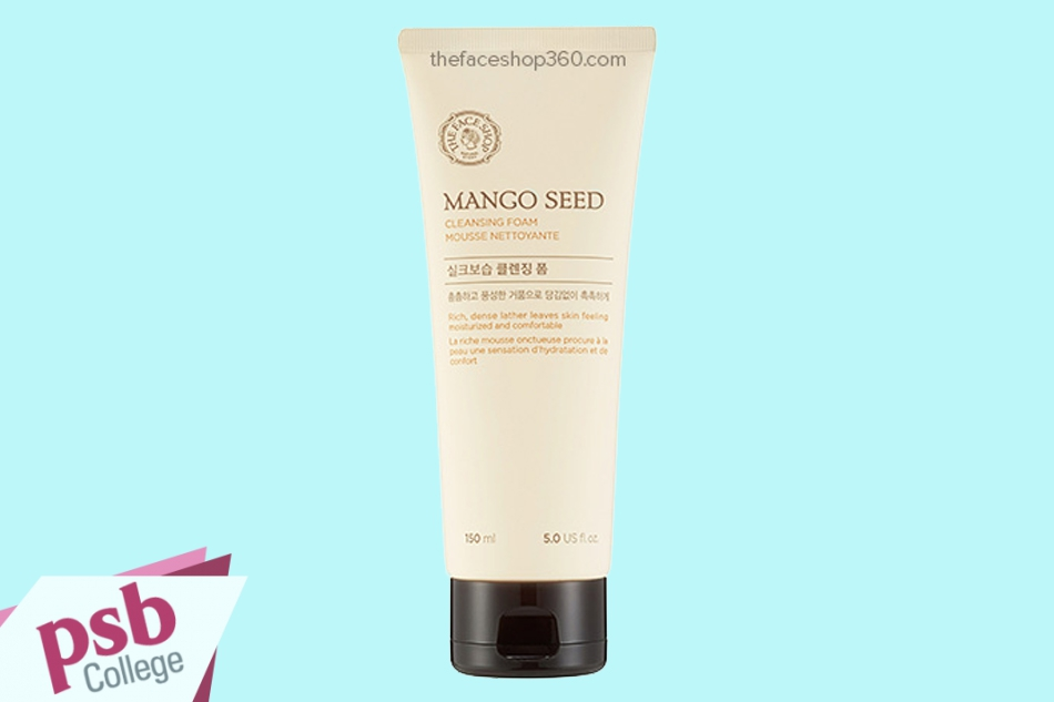 Sữa rửa mặt The Face Shop Mango Seed Cleansing Foam