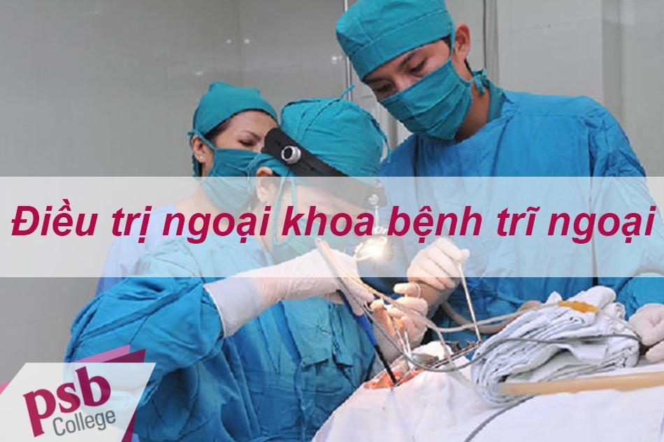Phương pháp điều trị ngoại khoa bệnh trĩ ngoại