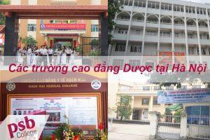 Các trường cao đẳng Dược tại Hà Nội