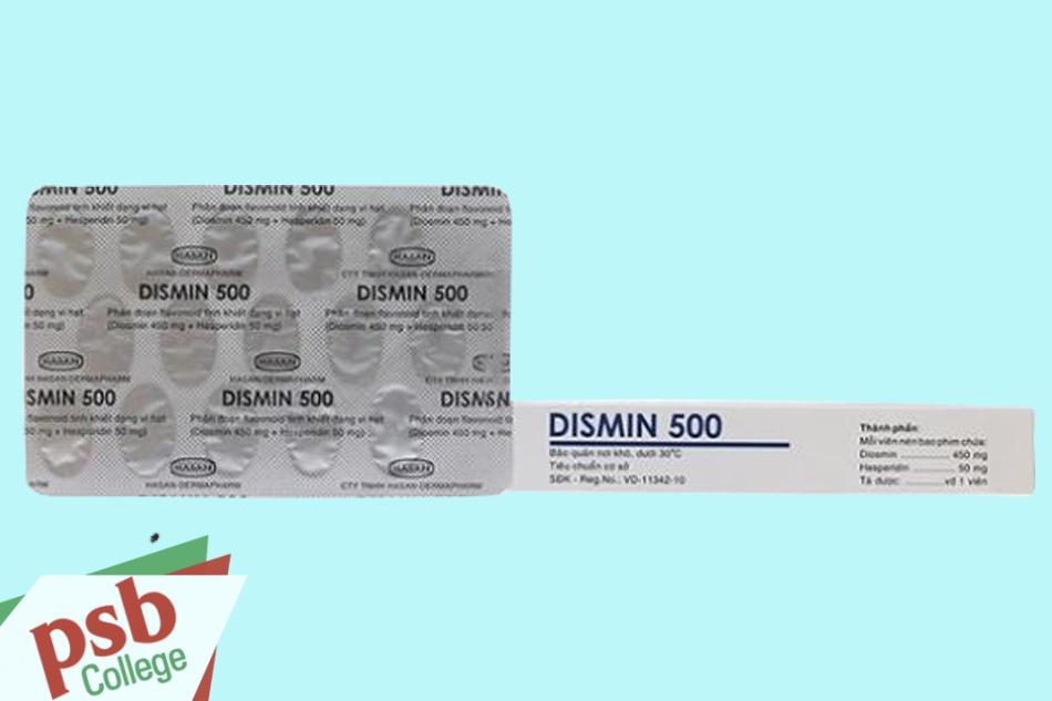 Hình ảnh thuốc Dismin