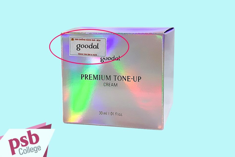 Phân biệt Kem ốc sên dưỡng trắng da Premium Snail Tone Up Creamthật – giả