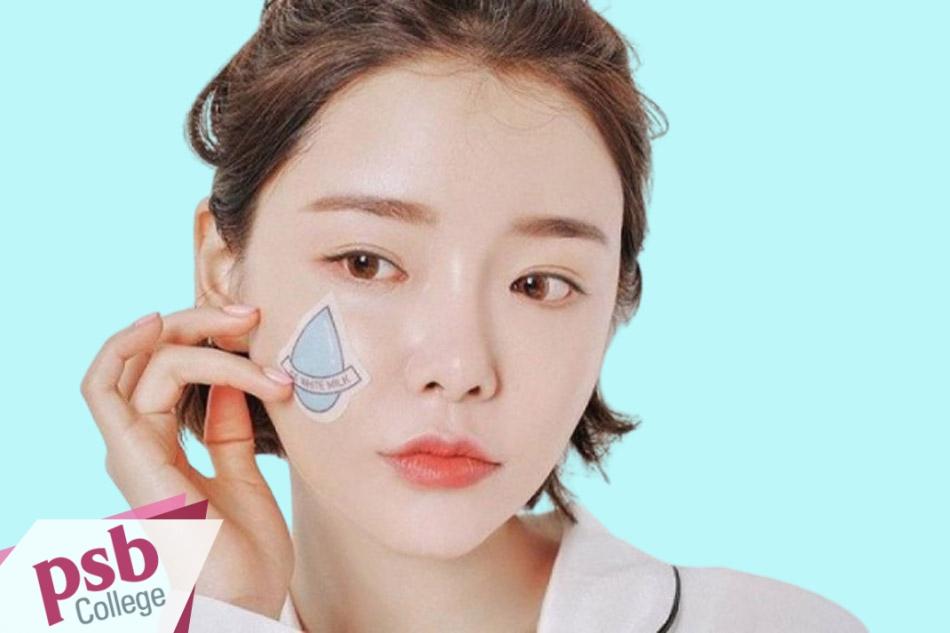 Mặt nạ dưỡng da giúp làn da không bị khô rạn.