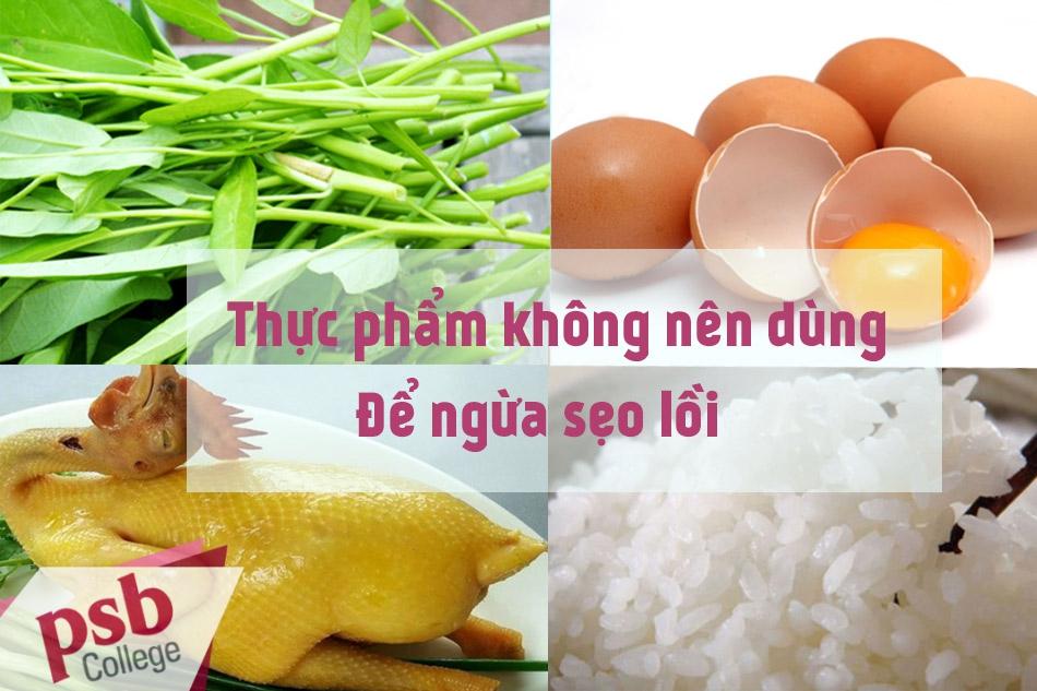 Thực phẩm nên tránh sử dụng để tránh bị sẹo lồi