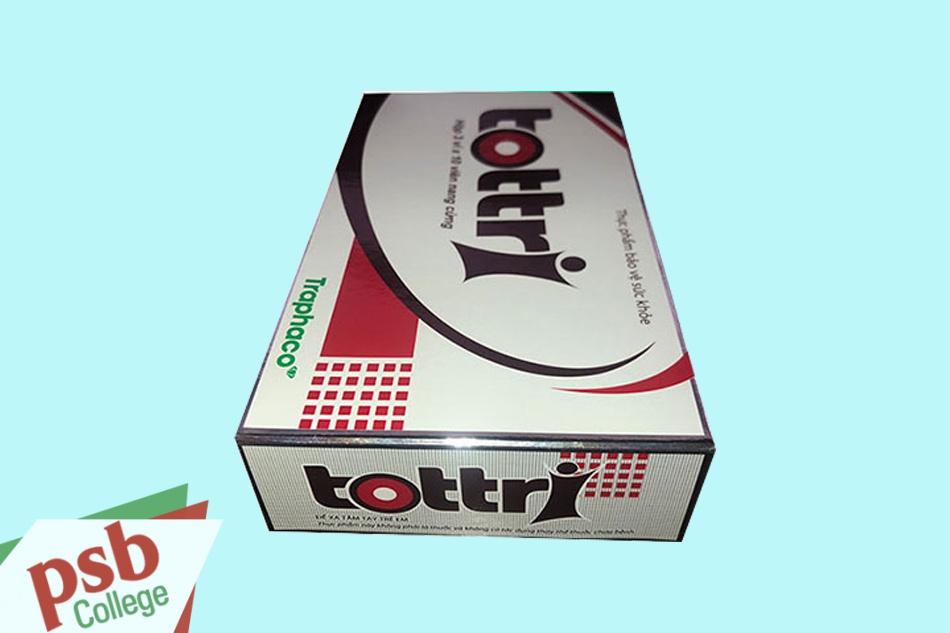Hình ảnh hộp Tottri dạng viên nang