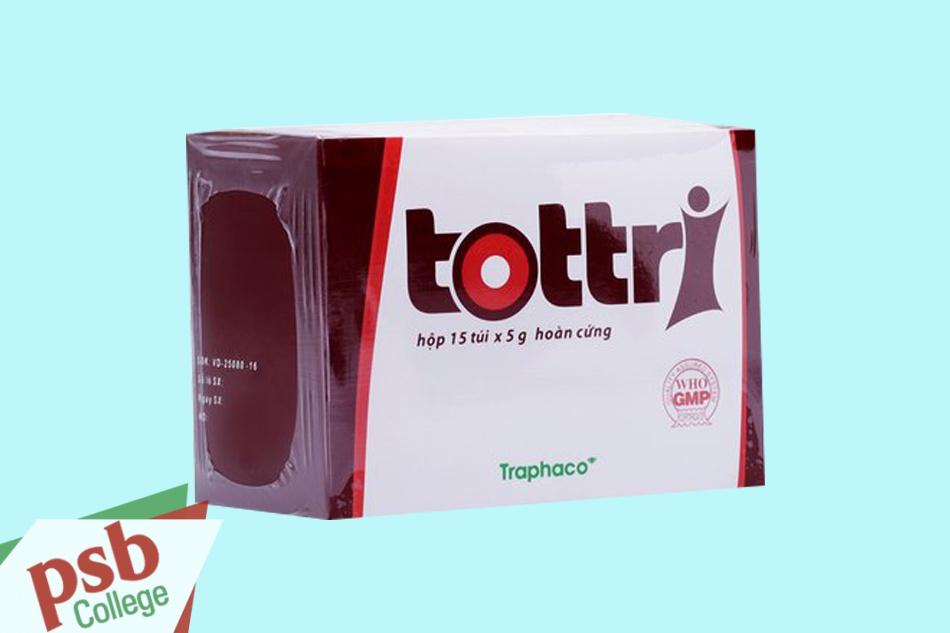 Hình ảnh hộp Tottri dạng viên hoàn