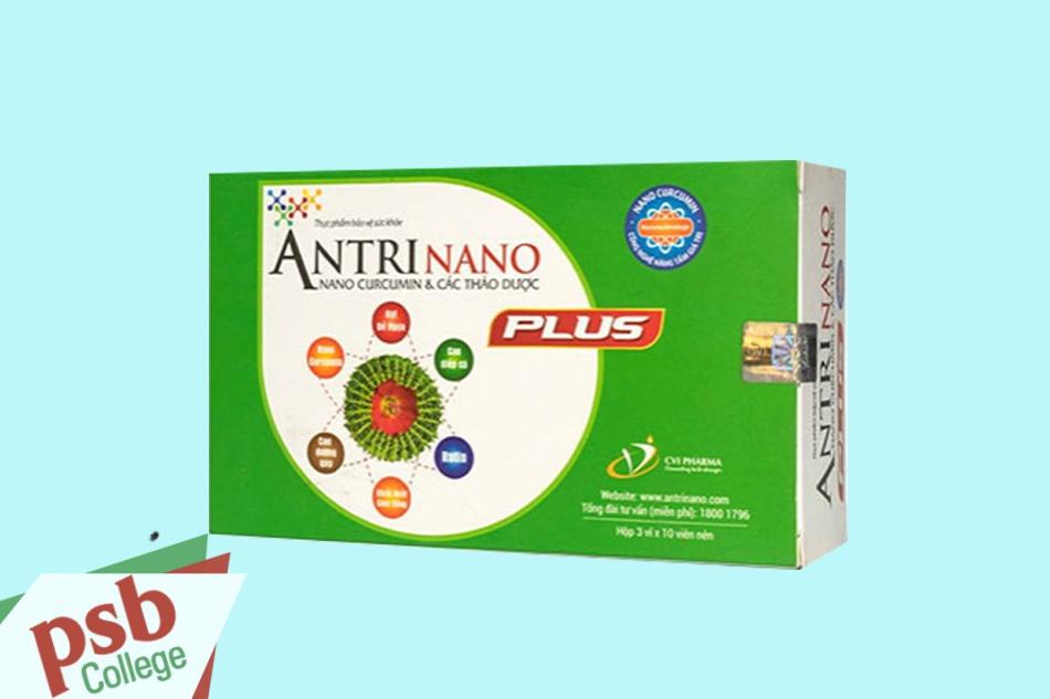 Antrinano Plus có thành phần từ 100% các loại thảo dược tự nhiên