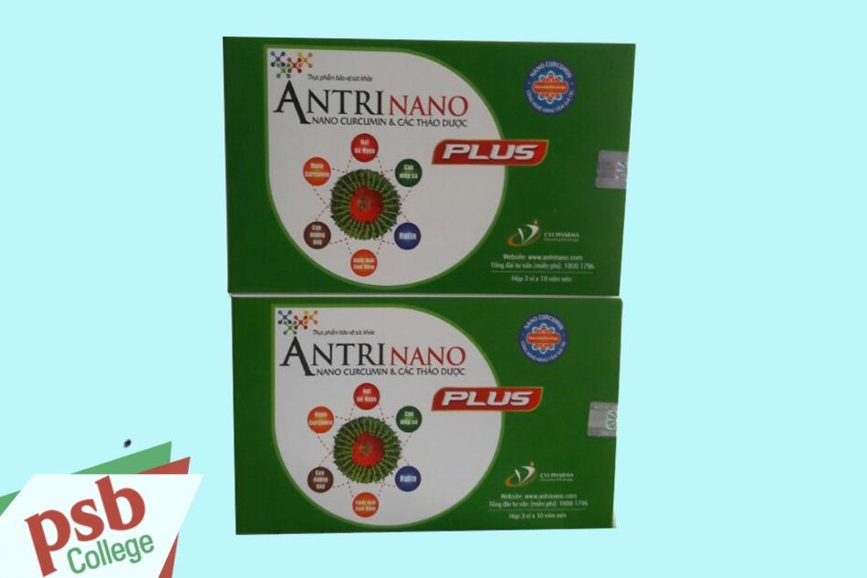 Antrinano Plus được sản xuất bởi Công Ty Cổ Phần Dược Mỹ Phẩm CVI
