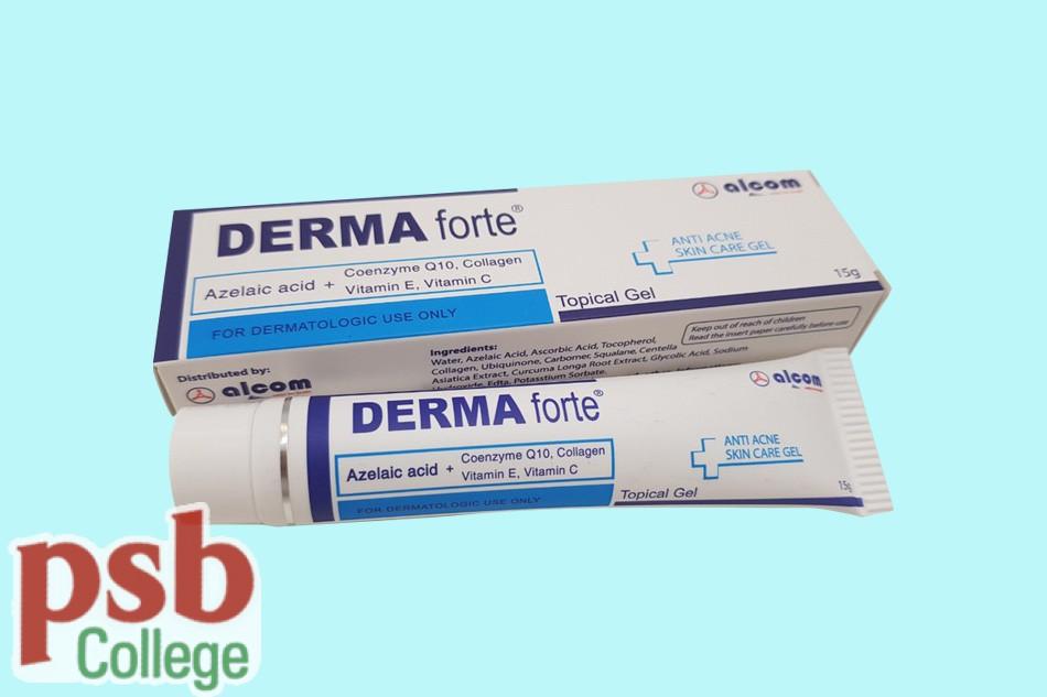 Derma forte bào chế dưới dạng gel