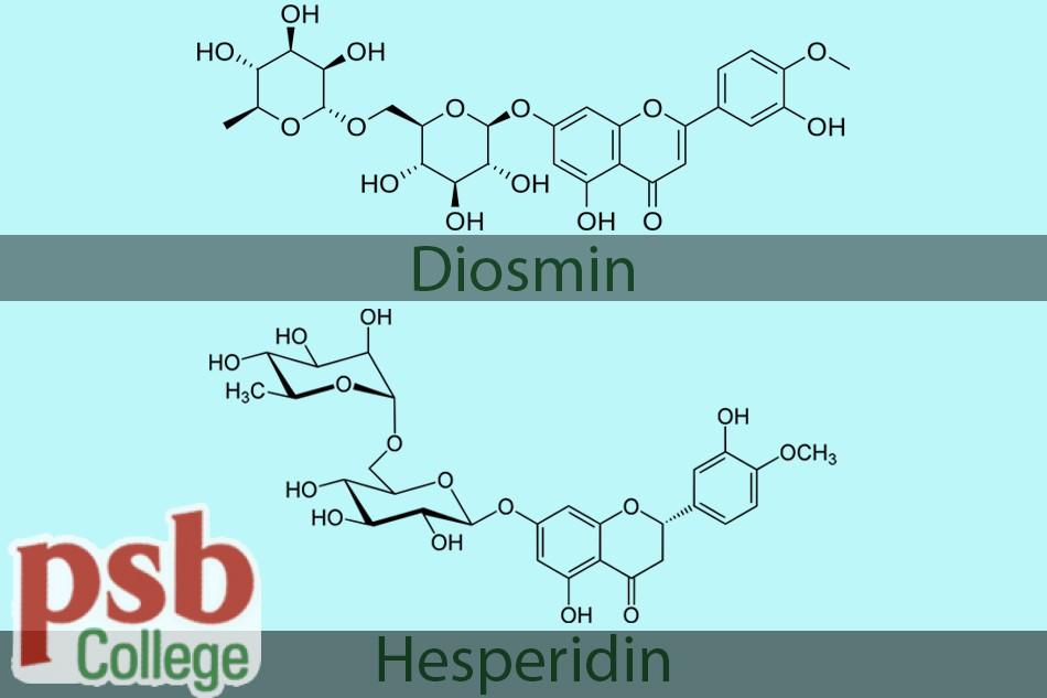 Hai thành phần chính của thuốc Hesmin