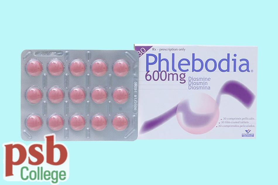 Thuốc Phlebodia điều trị bệnh trĩ