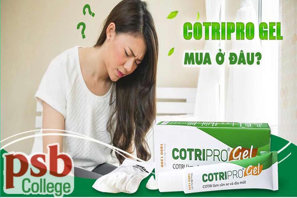 Mua Cotripro Gel chính hãng ở đâu?