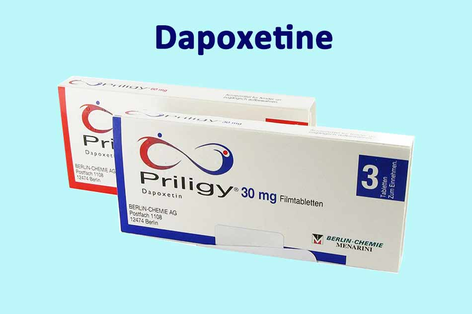 Biệt dược của Dapoxetine: Priligy