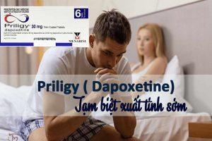Dapoxetine - tạm biệt xuất tinh sớm