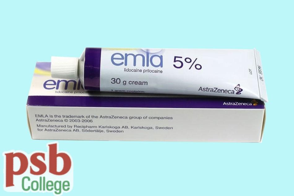 Emla 5% là sản phẩm của Astra Zeneca