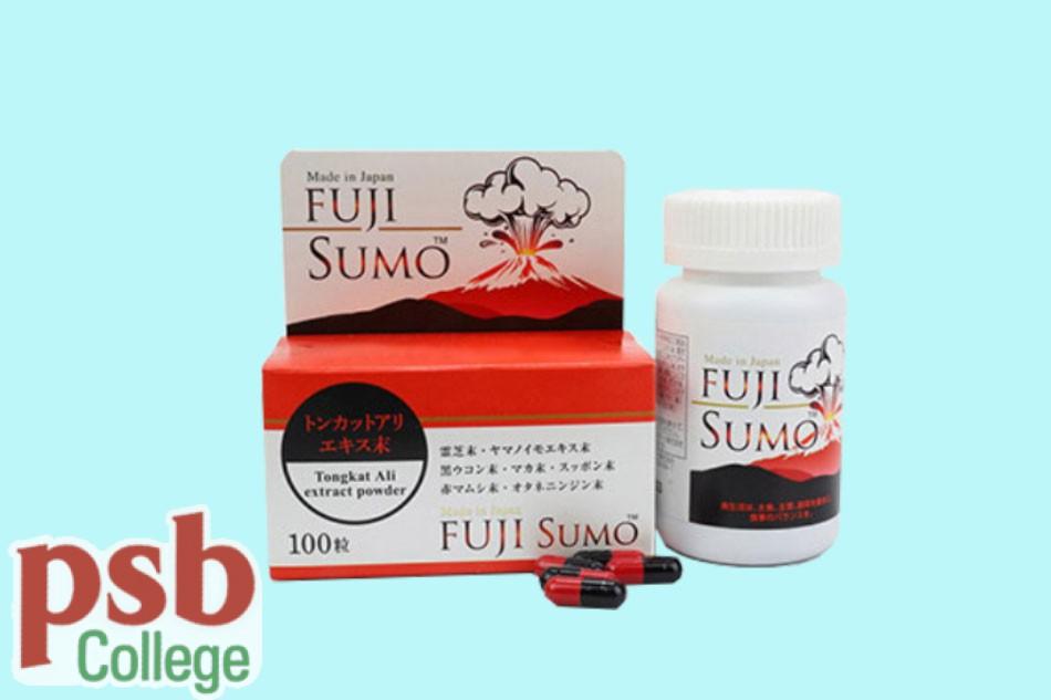 Hình ảnh viên uống Fuji Sumo