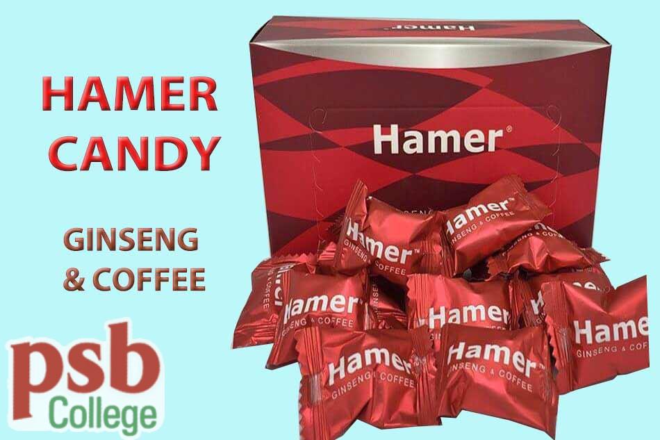 Thành phần của Hamer Ginseng & Coffee Candy chiết xuất từ tự nhiên