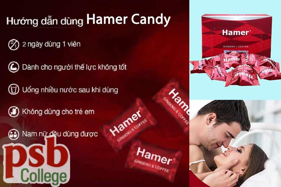 Hướng dẫn sử dụng Hamer Candy