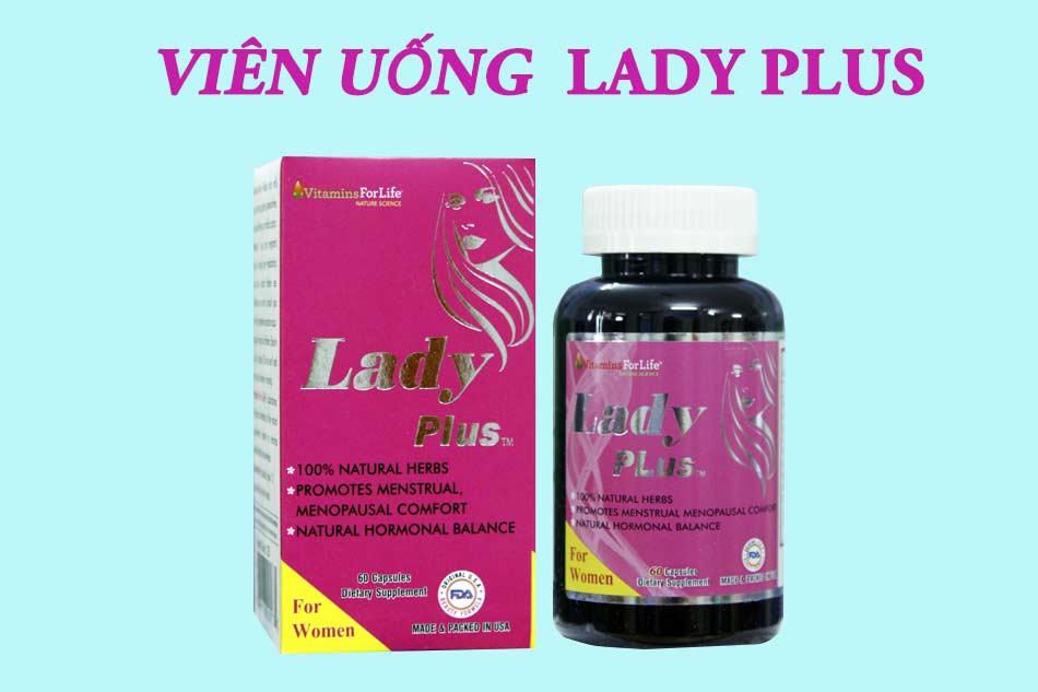 Hình ảnh viên uống Lady Plus