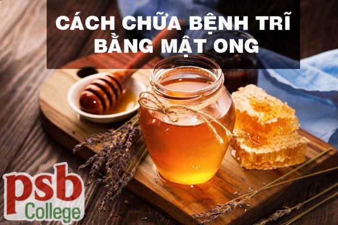 Cách dùng mật ong chữa bệnh trĩ