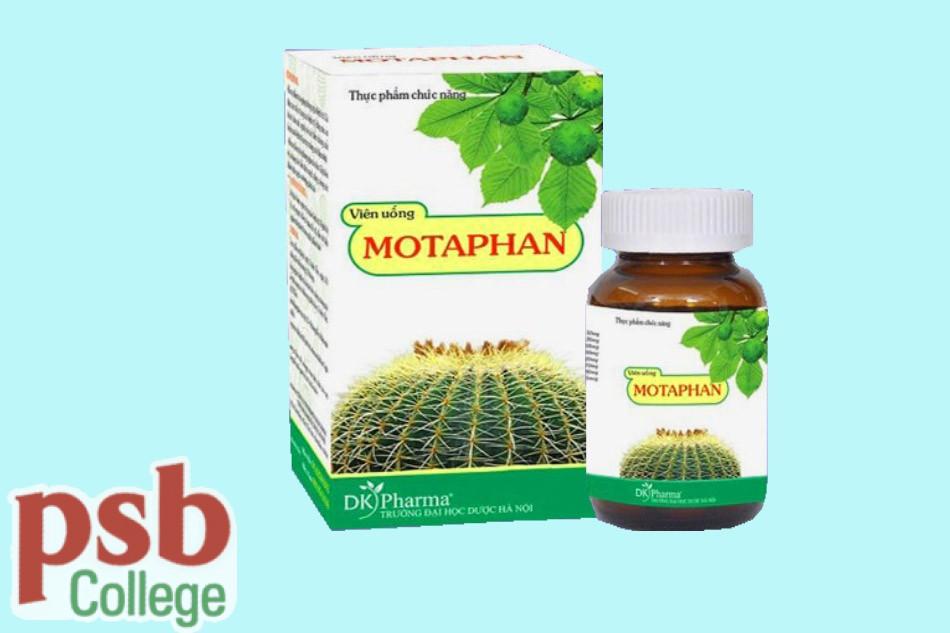 Hình ảnh viên uống Motaphan