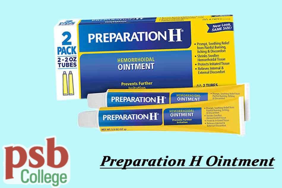 Thuốc Preparation H Ointment