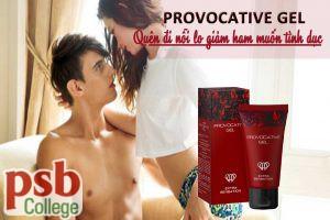 Provocatvive Gel - quên đi nỗi lo giảm ham muốn tình dục