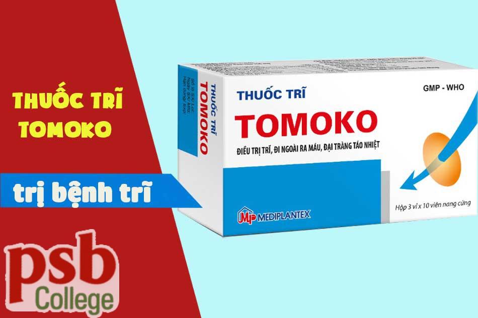 Thuốc Tomoko chữa bệnh trĩ