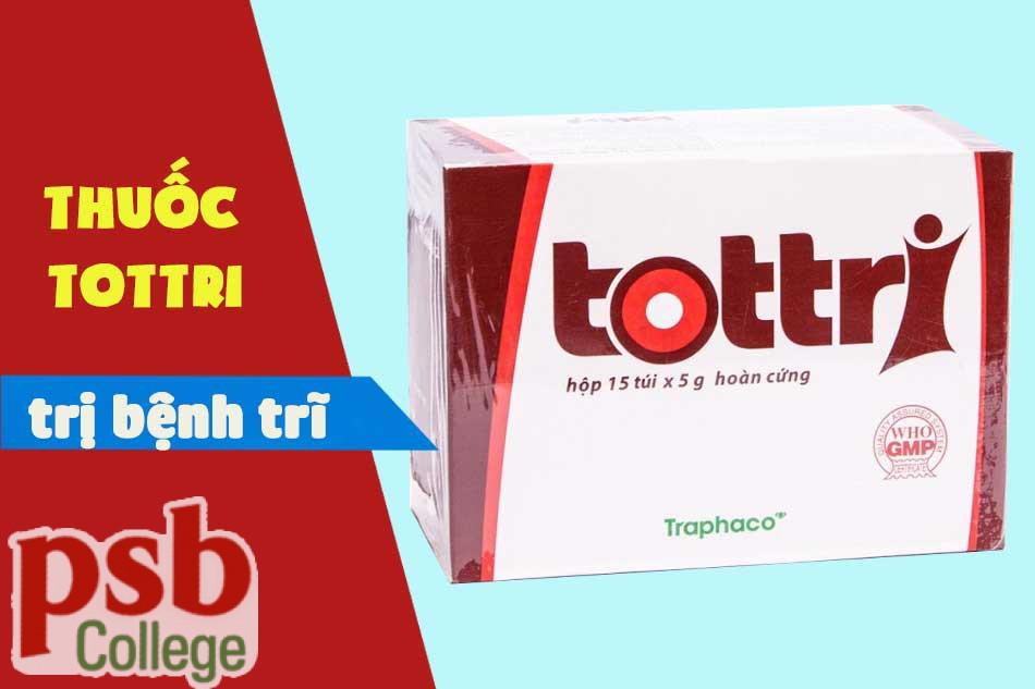 Thuốc chữa trị bệnh trĩ Tottri