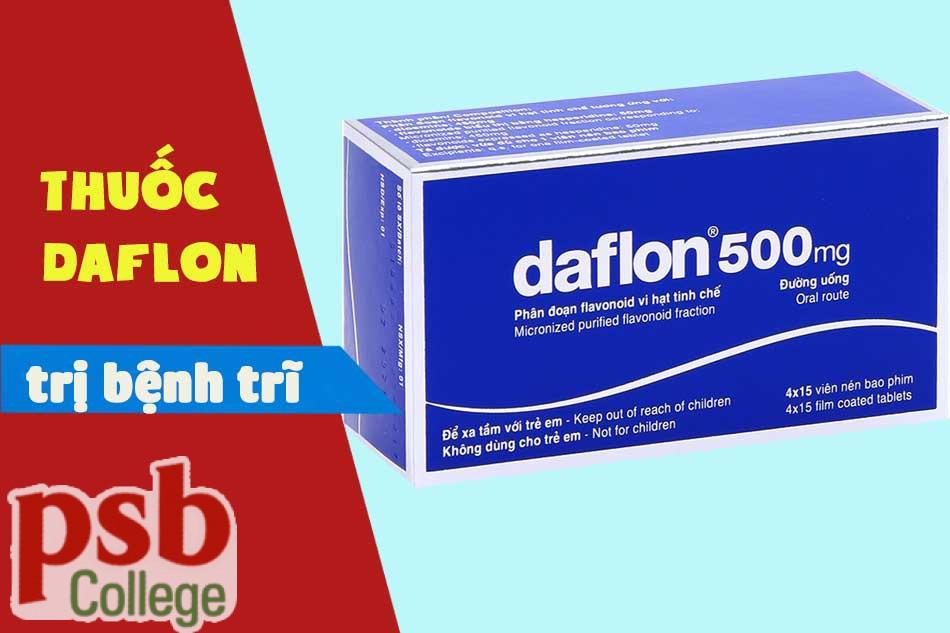 Thuốc Daflon chữa trị bệnh trĩ