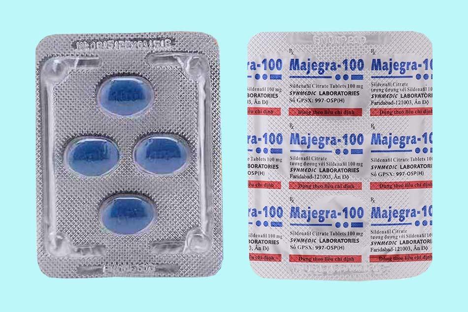 Vỉ thuốc Majegra 100