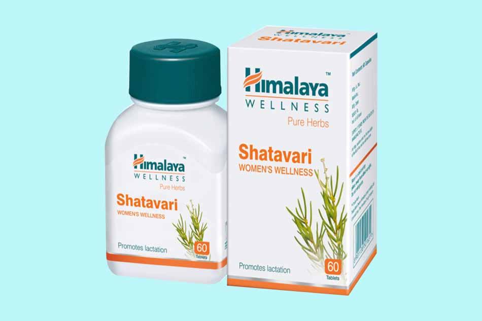 Hình ảnh hộp Himalaya Shatavari
