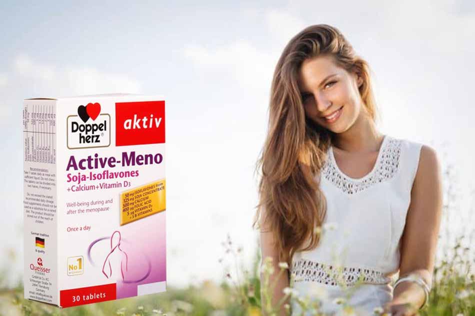 Active Meno - bổ sung nội tiết tố nữ
