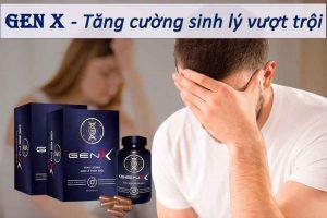 Gen X giúp tăng cường sinh lý vượt trội