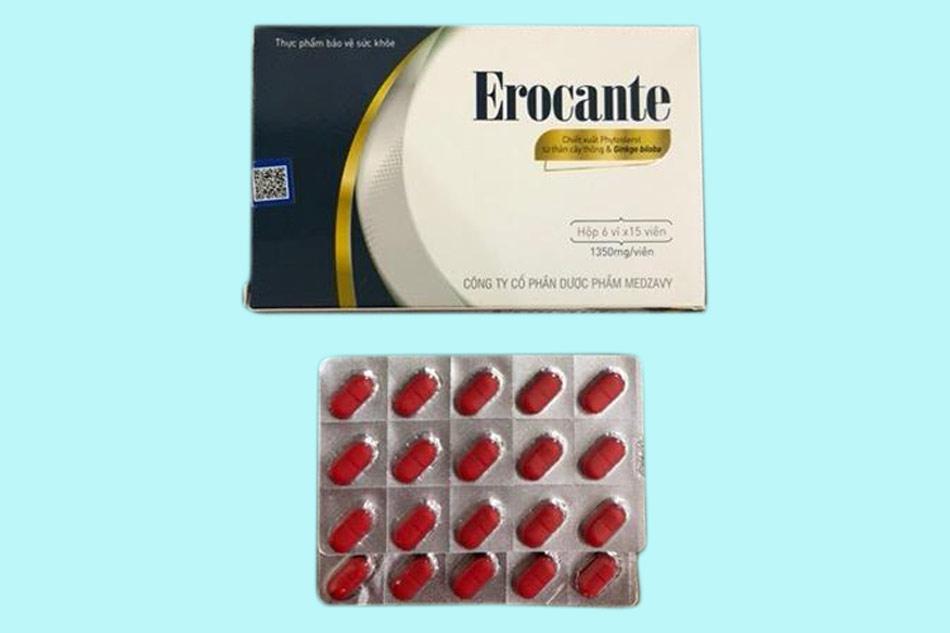 Hình ảnh Viên uống Erocante
