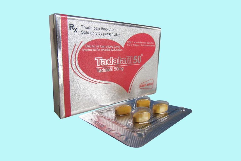Tadalafil sử dụng cho bệnh nhân rối loạn cương dương