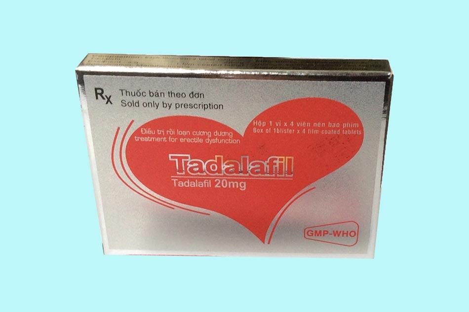 Hình ảnh hộp Tadalafil