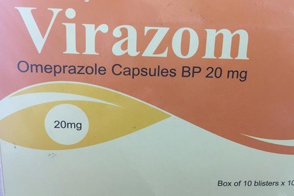 Hình ảnh hộp thuốc Virazom